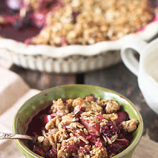 Plum Berry Crisp