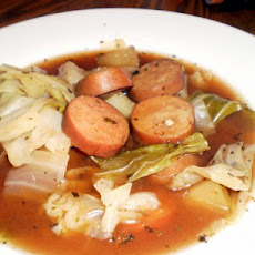 Sausage and Cabbage Stew (Crock Pot)