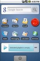 Screenshot of Rimshot Widget