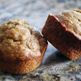 Banana, Honey and Date Muffins
