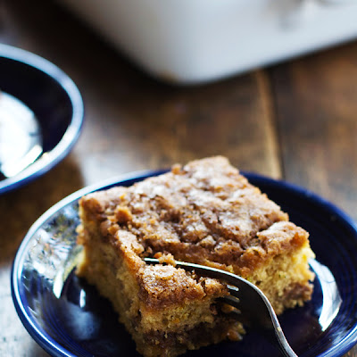 Cinnamon Sugar Zucchini Coffee Cake