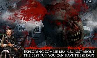 Screenshot of CONTRACT KILLER: ZOMBIES (NR)