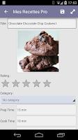 Screenshot of My CookBook Pro (Ad Free)