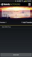 Screenshot of Travel Factor
