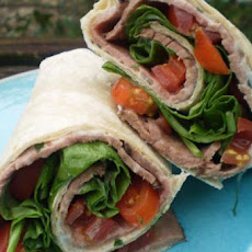 Weight Watchers BLT Wraps - 3 Points