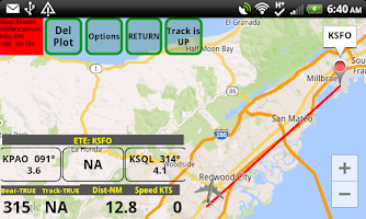 Screenshot of VFR Nav+  World GPS Air NAV