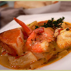 My simplified Fish Bouillabaisse