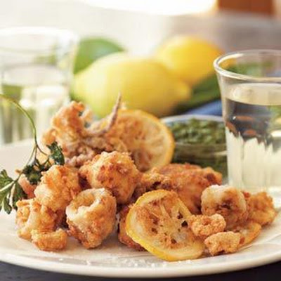 Fritto Misto with Salsa Verde
