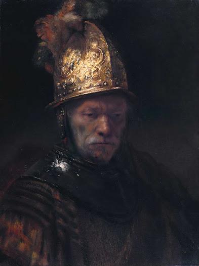 Rembrandt van Rjin, Uomo con elmetto d'oro