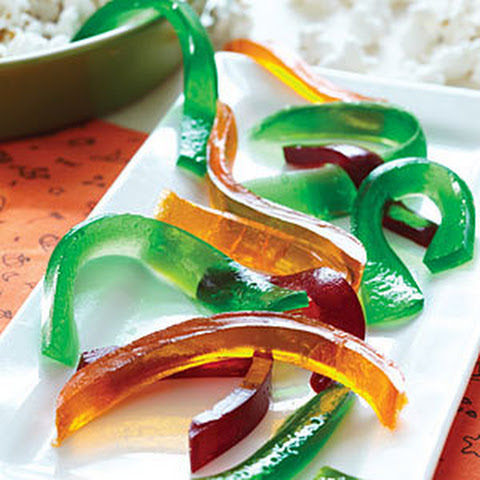 Gooey Gummy Worms
