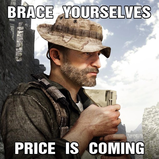 Infinity Ward teases the return of Price to Call Of Duty in some form