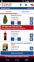 Screenshot of TESCO Potraviny online
