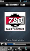 Screenshot of Radio Primero de Marzo