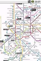 Screenshot of Madrid RailMaps