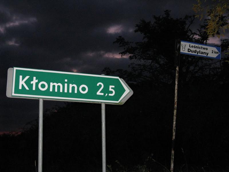 Zjazd do miasta widmo