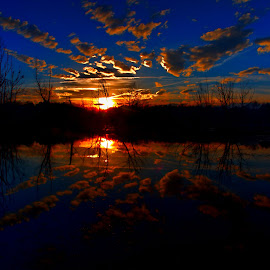 Sunset by Bob Buurman - Landscapes Sunsets & Sunrises (  )