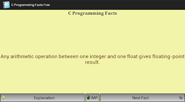 Screenshot of C Programming Facts Free