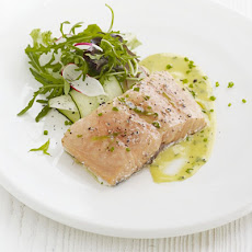 Tea-smoked Salmon With Herb Mayonnaise