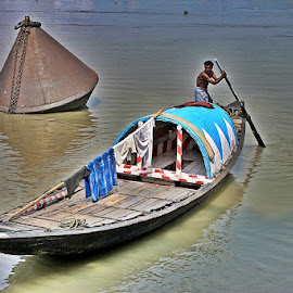 by Animesh Dey Roy - Transportation Boats