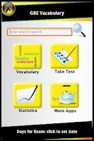 Screenshot of GRE Vocab & Test