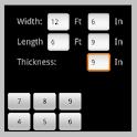 Concrete Slab Calculator
