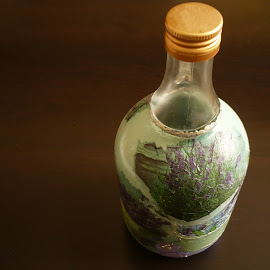 Decoration of the bottle for home by Drago Ilisinovic - Novices Only Objects & Still Life ( decoration, object, bottle )