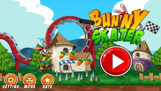 Bunny Skater APK for Bluestacks