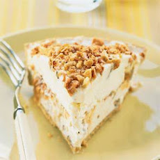 Butter Toffee Ice Cream Pie