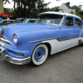 1953 Pontiac Cheiftain by Bill Scott - Transportation Automobiles