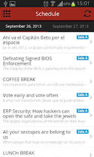 Ekoparty - Security Conference - screenshot