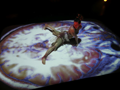 <p> Tara Cheyenne Friedenberg performing in &#39;Immanence&#39; at the Monument National HTMelles Festival.</p>