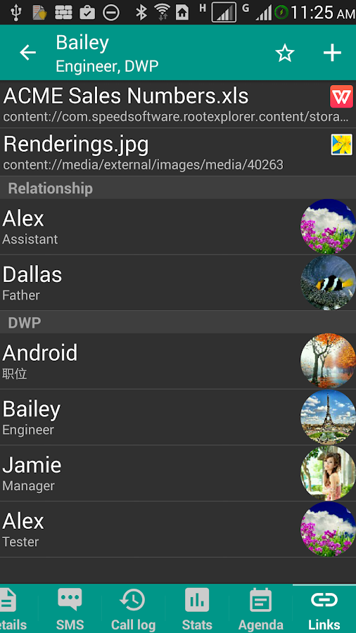 DW Contacts & Phone & Dialer Screenshot 4
