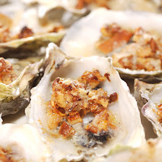 Chanterelle and Parmesan Oysters