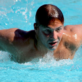 Butterfly by Derrick DeCorte - Sports & Fitness Swimming