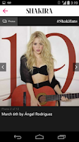 Screenshot of Shakira