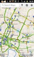 Screenshot of Thailand Flood Maps 2011