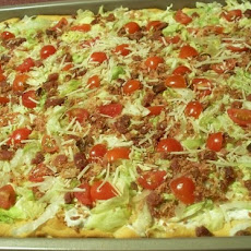 Cold BLT Pizza