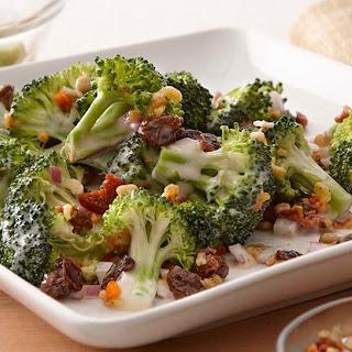 Broccoli Salad Red Wine Vinegar Raisins Recipes