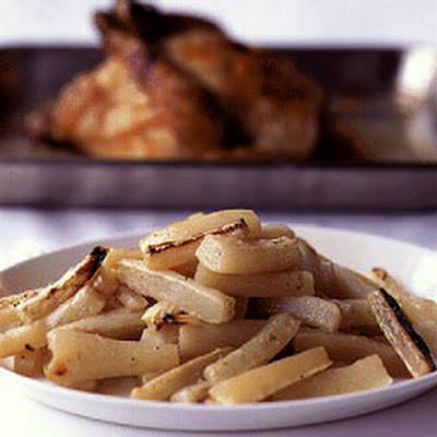 Roast Chicken with Daikon
