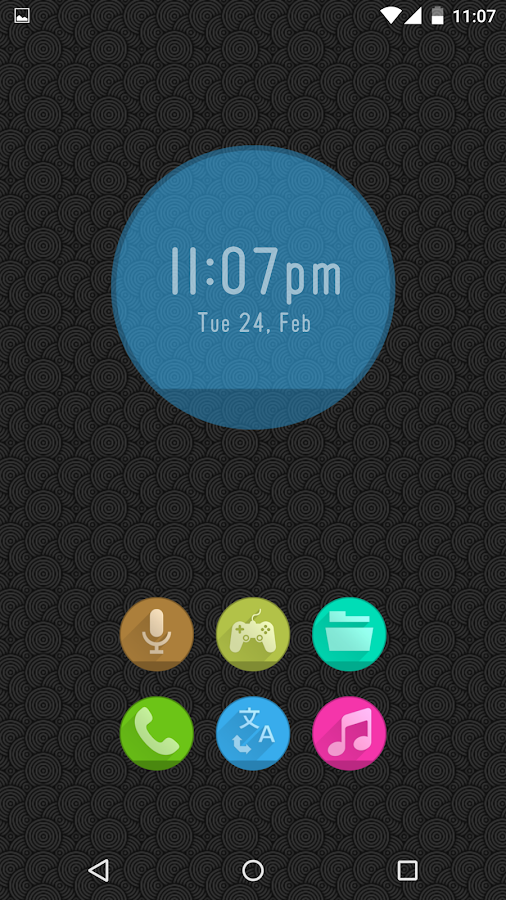 Circlons - Icon Pack Screenshot 2