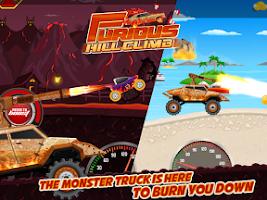 Screenshot of Furious Hill Climb