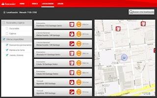 Screenshot of Banca Personas Tablet