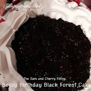 Boozy Birthday Black Forest Cake
