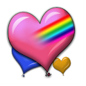 Valentine Heart Balloons Dlx! icon