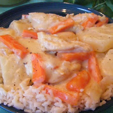 Crock Pot Swiss Cheese Chicken