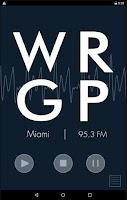 Screenshot of WRGP - FIU Student Radio