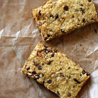 Chocolate Hemp and Oat Bars