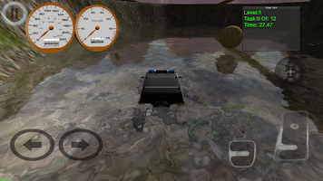Screenshot of Wild Safari Cops Rally 4x4