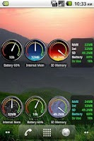 Screenshot of Battery & Memory Status Pro
