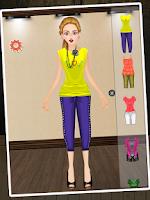 Screenshot of City Girl Makeover